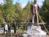 Монтаж памятника М.А. Шолохову (2007 год)